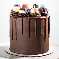 6-INCH Signature Chocolate Truffle Cake (local pick up only)