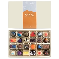 NEW! 24 PIECE Winter Snowflake Band Boxes </br> (Signature Collection Truffles)