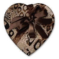 Heart Valentine Box </br> (Wild Thing) </br> 27 Signature Collection Truffles (16oz)