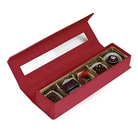 Red Standard Charm Box </br> 5 PIECE Signature Truffles