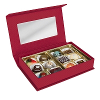12 Piece Signature Collection Red Rectangle Charm Box